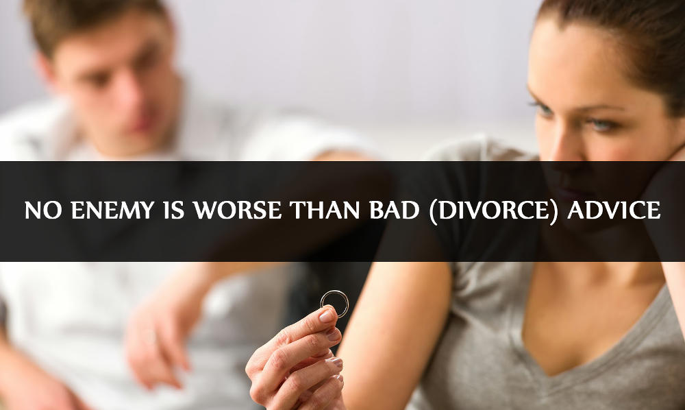 Divorce Advice: Avoiding Common Mistakes