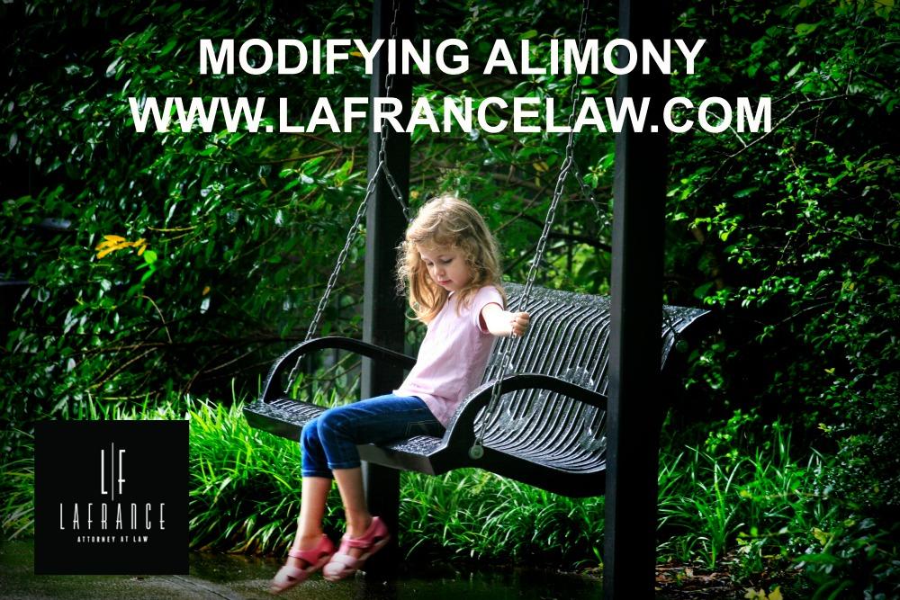 Modifying Alimony